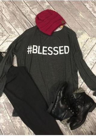Blessed Batwing Sleeve T-Shirt Blessed