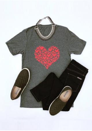 Red Heart Short Sleeve T-Shirt