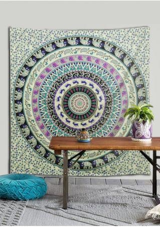 Mandala Paisley Floral Tapestry