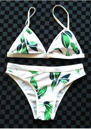 Leaf Bikini Set Leaf