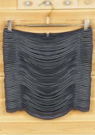 PETITE Zipper Skinny Skirt