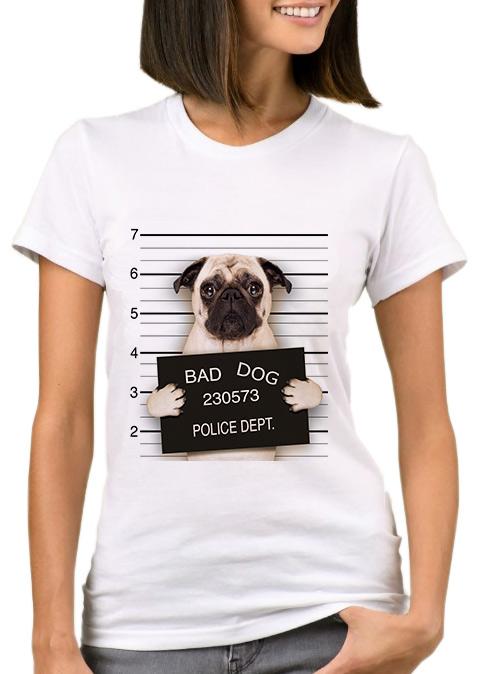 Bad Dog Short Sleeve T Shirt Fairyseason
