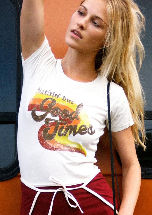 Tricou de damă, casual, slim fit, din poliester, cu imprimeu și mâneci scurte