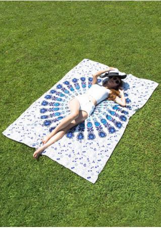 Mandala Retro Bohemian Style Beach Blanket