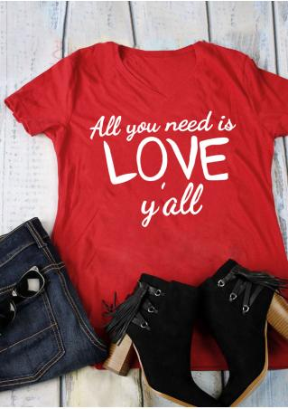 All You Need is Love T-Shirt All