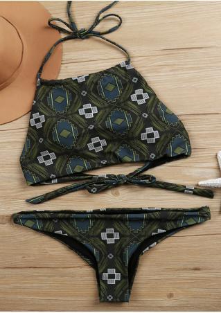 Geometric Sexy Bikini Set Geometric