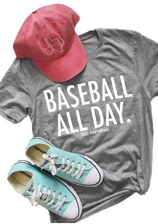 Baseball All Day T-Shirt Baseball