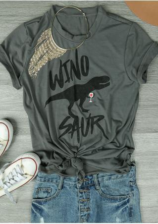 Wino Saur Casual T-Shirt