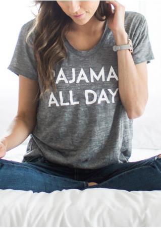 Pajamas All Day T-Shirt Pajamas