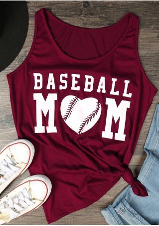 Baseball Mom Tank Baseball