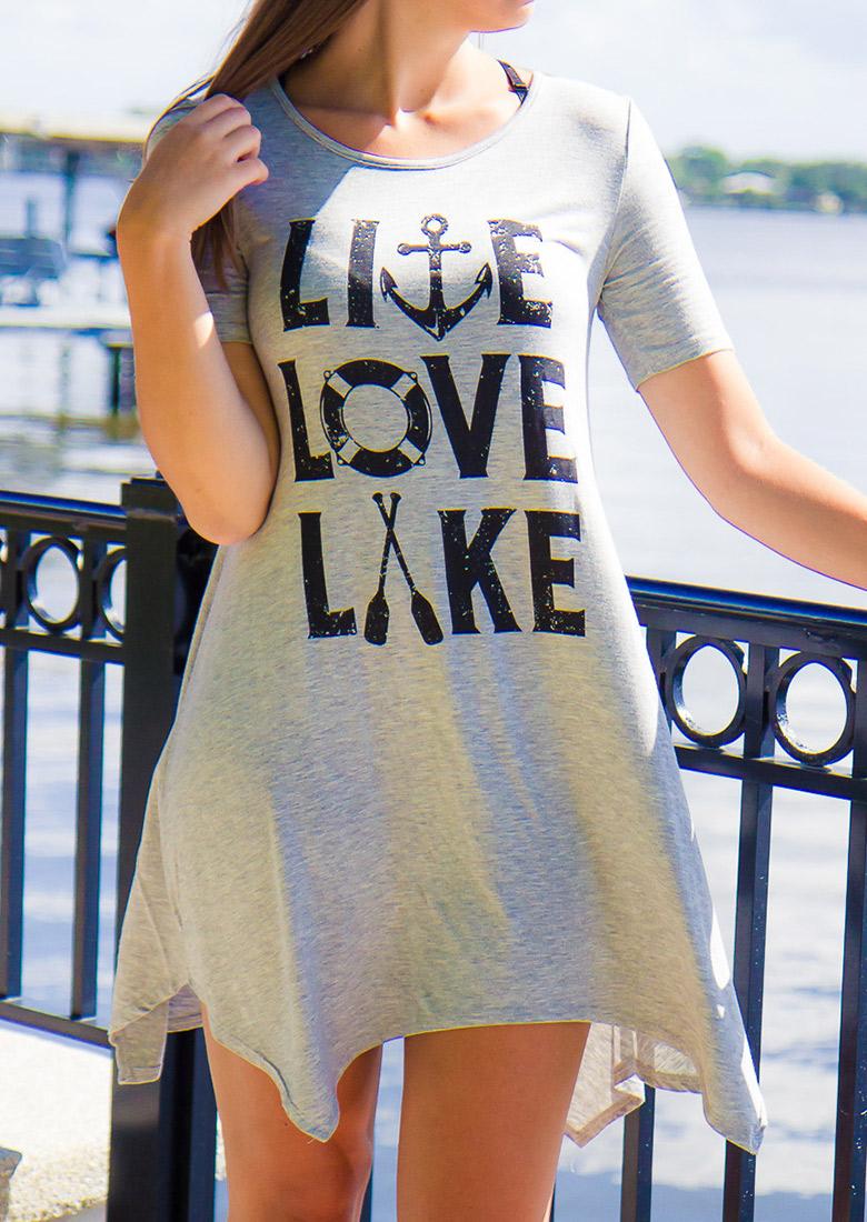 live love lake casual mini dress fairyseason