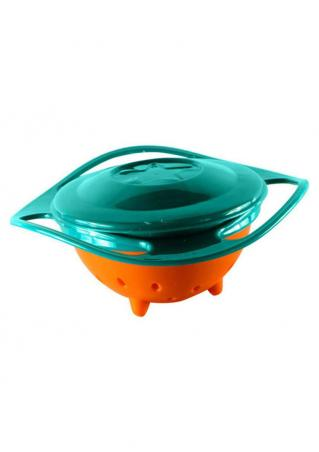 Baby Feeding Avoid Food Spill Gyro Bowl