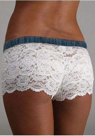 Floral Lace Panties