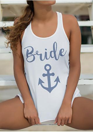 Bride Anchor Tank Bride