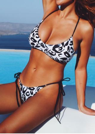 Leopard Bikini Set without Necklace