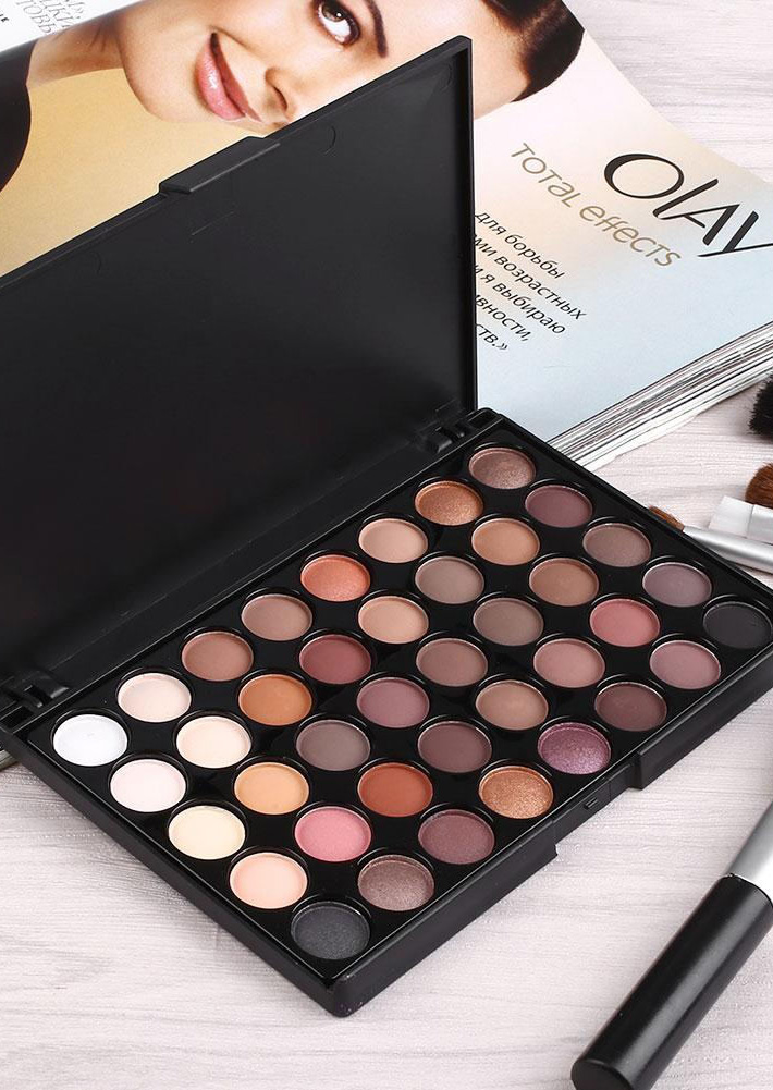 Image of 40 Colors Matte Luminous Eyeshadow Palette
