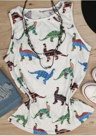 Dinosaur Tank without Necklace Dinosaur