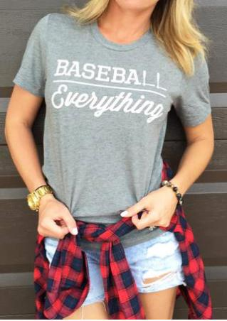 Baseball Everything T-Shirt Baseball