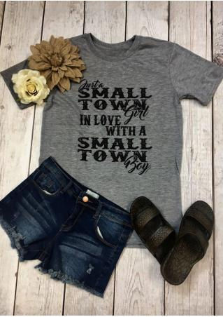 Small Town In Love T-Shirt