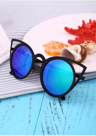 Oversized Frame Cat Eye Sunglasses
