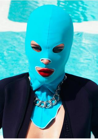 Solid Chic Facekini Mask