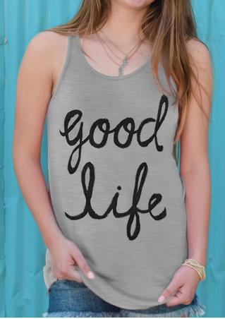 Good Life Tank without Necklace