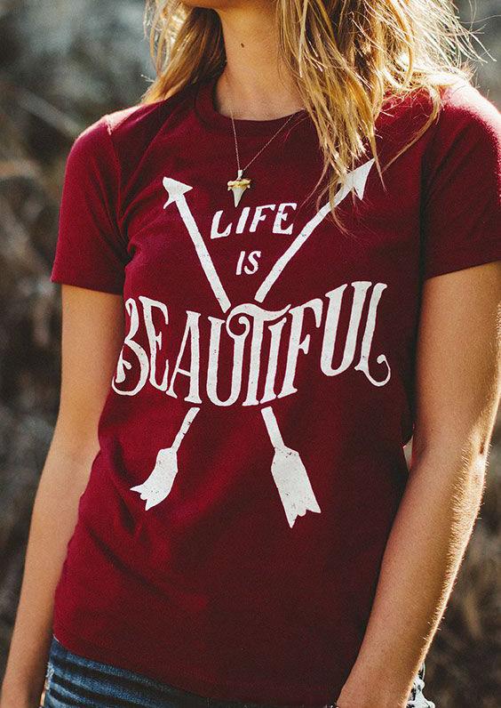 Tricou de damă, elegant, fashion, cu imprimeu grafic și mâneci scurte