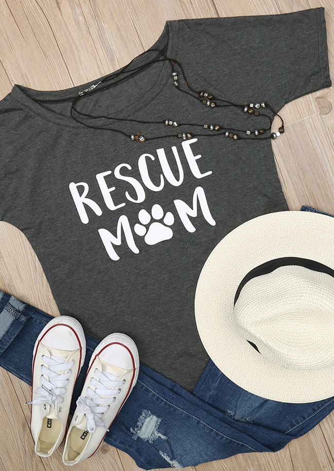 Tricou de damă, casual, din poliester, cu imprimeu grafic și mâneci scurte