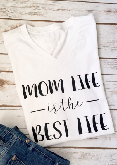exceptional range of colors new authentic buy Mom Life Is The Best Life T-Shirt - Fairyseason