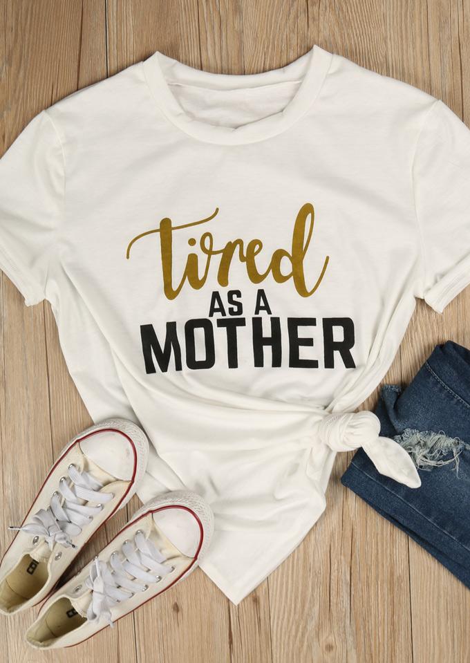Tricou de damă, fashion, slim fit, cu imprimeu grafic, mâneci scurte și guler rotund
