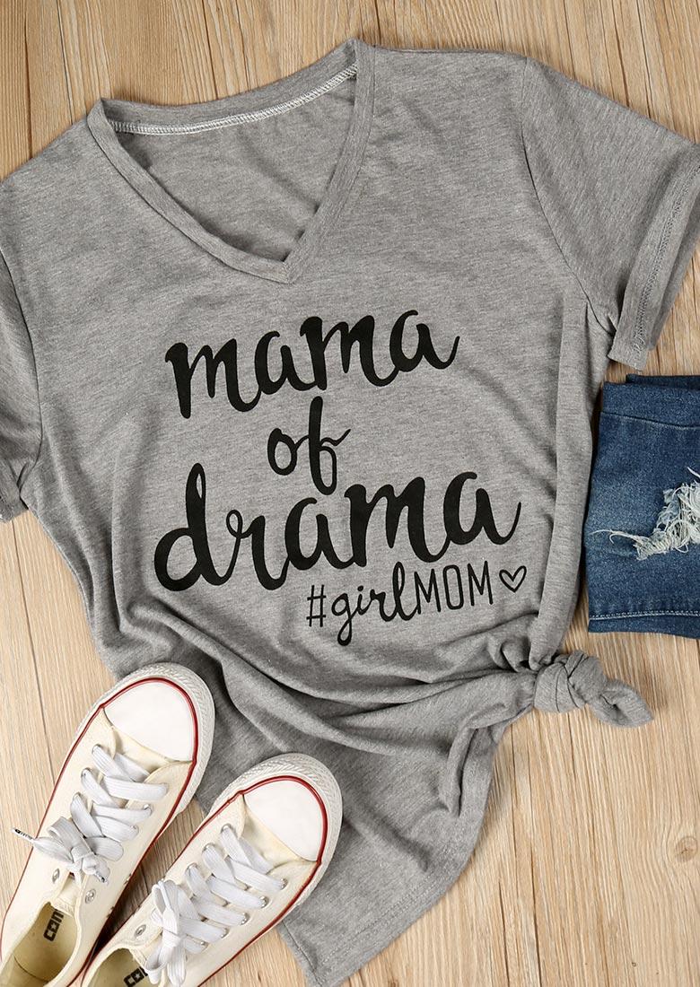 mama of drama tshirt fairyseason