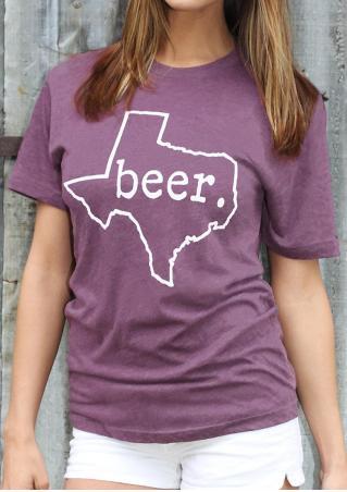 Beer Texas T-Shirt Beer