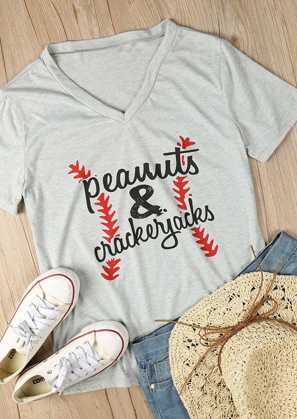 Peanuts Amp Crackerjacks T Shirt Fairyseason