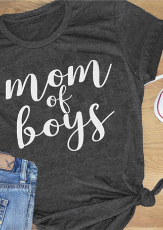 c924ba71 Mom Of Boys T-Shirt - Fairyseason