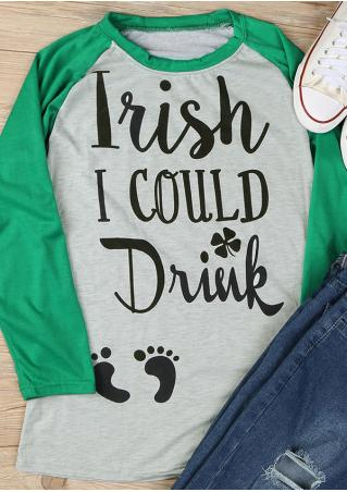 I Wish I Could Drink Footprint T-Shirt