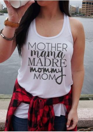 Mother Mama Madre Mommy Mom Tank
