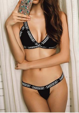 Saboskirt Bikini Set