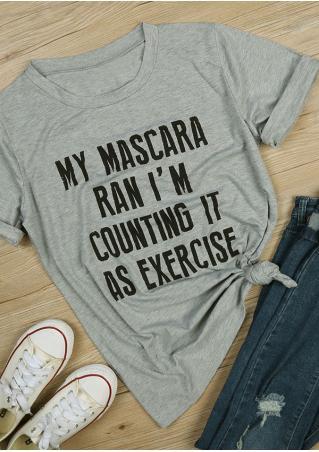 My Mascara Ran T-Shirt My