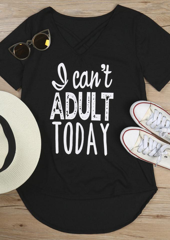 Tricou de damă, elegant, casual, slim fit, din poliester, cu imprimeu grafic şi mâneci scurte