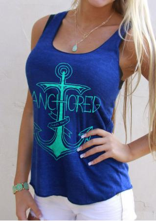 Anchored Tank without Necklace