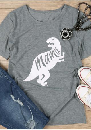 Mama Dinosaur T-Shirt