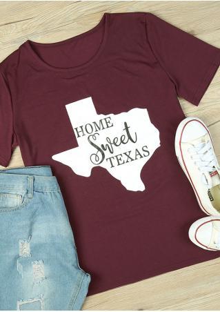 Home Sweet Texas T-Shirt