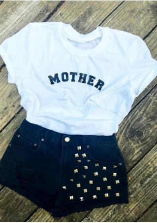Mother O-Neck T-Shirt