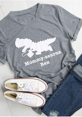 Mommysaurus Rex  Dinosaur T-Shirt
