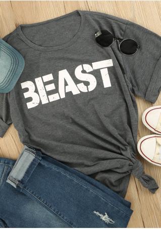 Beast O-Neck T-Shirt