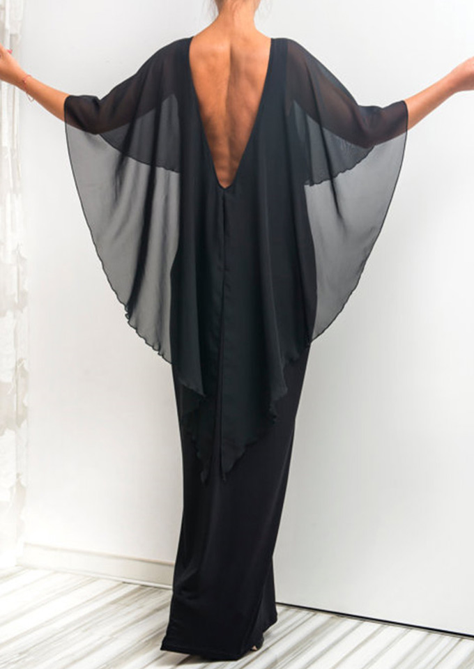 Image of Backless Maxi Dress
