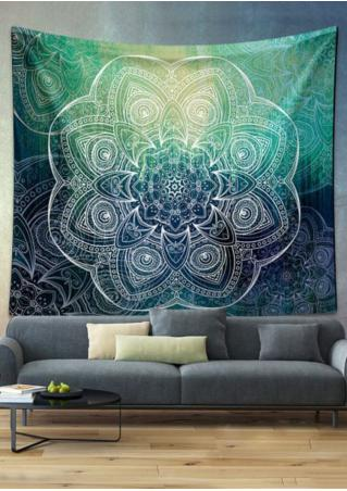 Mandala Rectangle Tapestry