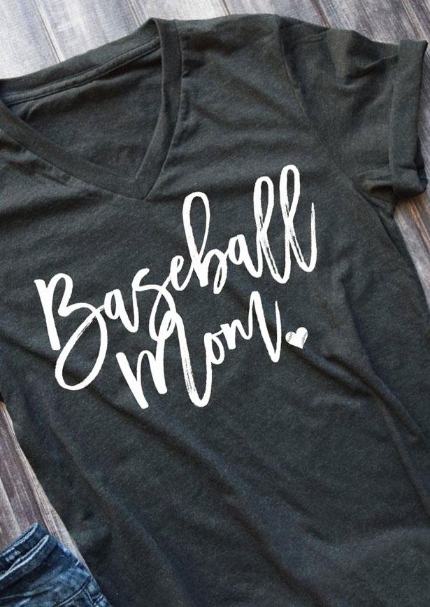 Blue Shirt With Love Softball Design