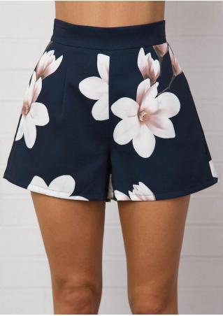 Floral Pocket Shorts