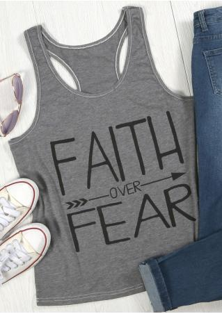 Faith Over Fear Arrow Tank